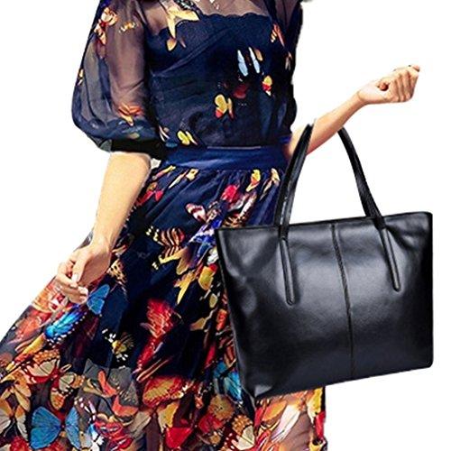 YanRun, Borsa a zainetto donna multicolore oro nero