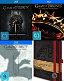 Game of Thrones Staffel 1 2 3 + Notizbuch 15 Blu-Ray Collection Geschenk Set Limited Edition