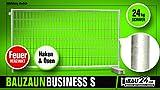 Bauzaun/Mobilzaun Business S feuerverzinkt mit Haken und Öse