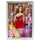 #8: GRAPPLE DEALS Fashion Girl Princess Doll With Trendy Dresses And Accessories For Girls