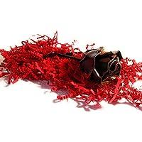 ♥ Eisen Schmiede ewige Rose Oxydiert - Handgemacht - Ideal als Geschenk zum Muttertag, Valentinstag, für die Geliebte, Geburstag, Weihnachten und als Innen-oder Aussendekoration by Forging Art Bcn