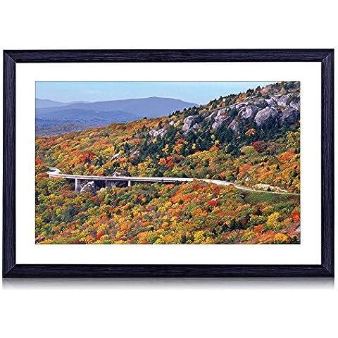 Linn Cove viadotto Highway in North Carolina–stampa