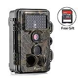 Caméra de Chasse, Papake 12MP 1080P HD Imperméable IP66...