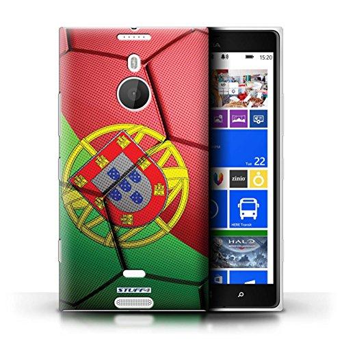 Kobalt® Imprimé Etui / Coque pour Nokia Lumia 1520 / Allemagne conception / Série Nations de Football Portugal