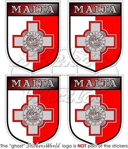 malta-malteser-shield-50mm-51cm-vinyl-bumper-helmet-sticker-aufkleber-x4