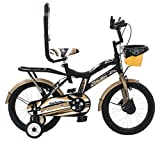 MAD MAXX BIKES Force Steel Kid's Road Cycle, 16 inches Matte Finish Black
