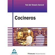 Cocineros. Test Y Casos Prácticos Del Temario General