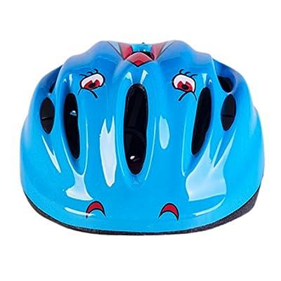 Foxom Kids Bike Safety Helmets - Bike, Cycle, Scooter or Skates Helmets Boys or Girls - An Ideal Helmet For 2-15 Years Kids