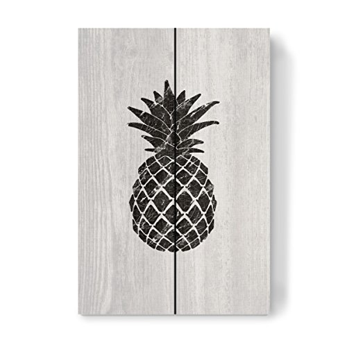 artboxONE Holzbild 30x20 cm Abstrakt 'Marble Pineapple' von Künstler Orara Studio