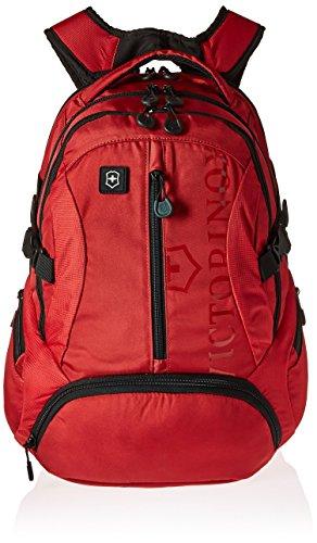 Victorinox SCOUT BATOH Nylon Rojo mochila - Mochila para portátiles y netbooks (Nylon, Rojo, Monótono, Unisex, Bolsillo frontal, Bolsillo lateral, 340 mm)