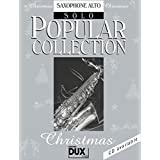 Popular Collection Christmas. Saxophone Alto Solo
