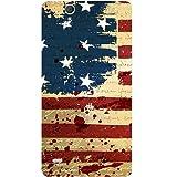 Casotec USA Flag Design Hard Back Case Cover For Sony Xperia C4