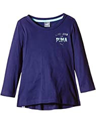 Puma Fun Ind Graphic T-Shirt manches longues Fille
