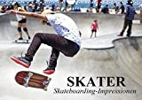 Skater. Skateboarding-Impressionen (Wandkalender 2019 DIN A4 quer): Vom Straßensport zur populären Sport-Disziplin (Monatskalender, 14 Seiten ) (CALVENDO Sport)