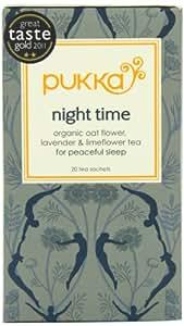 Pukka Organic Night Time 20 Teabags (Pack of 4, Total 80 Teabags)