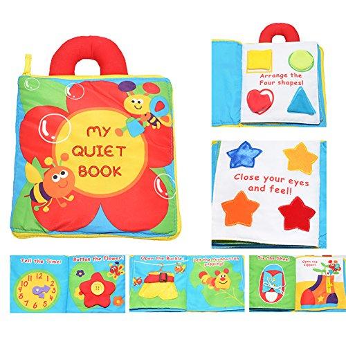 Actividad infantil suave del niño del bebé Libros de Aprendizaje His