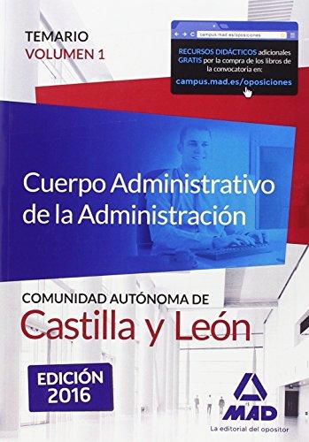 Cuerpo Administrativo de la Administración de la Comunidad Autónoma de Castilla y León.: 1