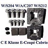 1x Schrauben Dichtung Satz Set für AHK Anhängerkupplung Mercedes Benz E-Coupe 207 E-Klasse W212 S212 AMG C-Klasse W204 S204