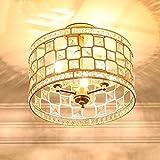 Modernes Kronleuchter Deckenleuchte / Deckenlampe / Leuchte / Lüster/  Lampen Metall Trommel Gold Beleuchtung E14