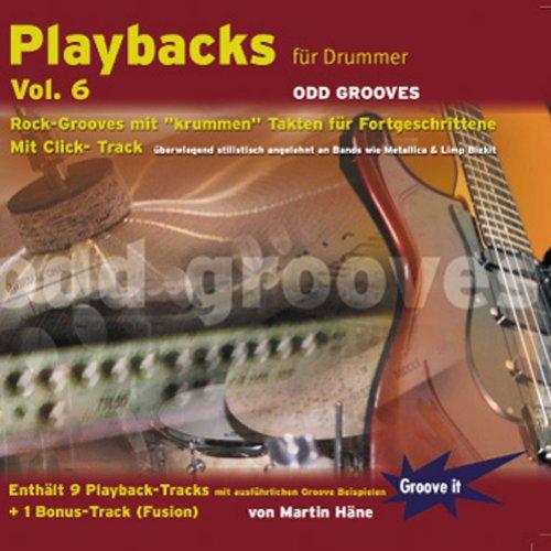 Playbacks für Drummer Vol. 6 - Odd Grooves (Roland Metronom)
