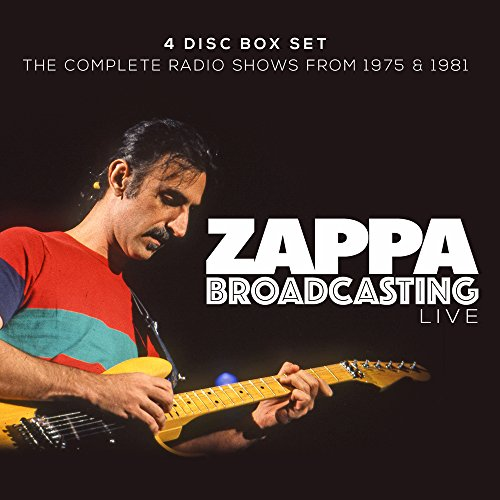 Frank Zappa - Broadcasting Live (4 Disc Box Set) Providence Music Box