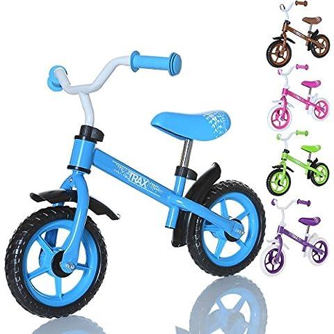 LCP Kids TRAX Bicicleta sin pedales niños con sillin regulable para edades de 2 a 4 años, Color: