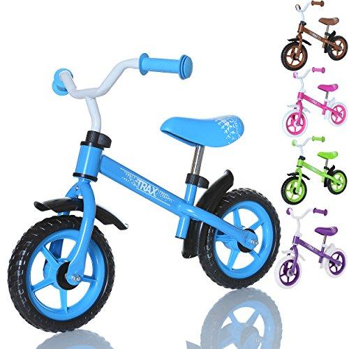 LCP Kids TRAX Draisienne enfant - velo de marche sans pedale Bicycle de balance de 2 ans, couleur: bleu