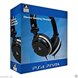 B-Creative Sony offiziell lizenzierte Stereo-Gaming-Headset für PS4 & PS Vita PlayStation 4