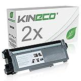 Kineco 2 Toner kompatibel zu Dell E310 für E310dw, E514dw, E515dw, E515dn - 593-BBLH - Schwarz je 5.200 Seiten