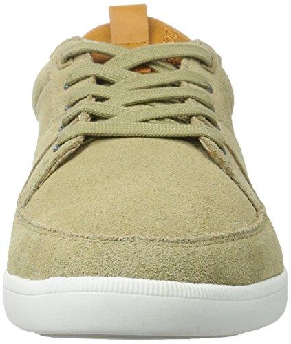 Boxfresh Herren Cladd Sh Sde/Lea Kelp/Sdnbrn Sneaker Braun (Beige)
