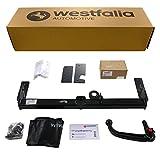 Abnehmbare Westfalia Anhängerkupplung für Astra H Fließheck (BJ 03/2004-12/2009) im Set mit 13-poligem fahrzeugspezifischen Westfalia Elektrosatz