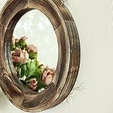 Espejo-de-pared-de-madera-redondo