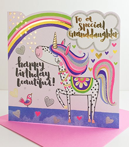 Rachel Ellen Designs - Spirit Reichweite - Happy Birthday Enkelin - Einhorn