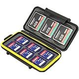 JJC Multi Memory Card Case MC-SD6CF3 Speicherkarten Schutzbox für 3 Stück CF Cards und 6 Stück SDHC Karten - extreme Wasserdicht und Stoßfest Box Safe Tasche Etui Aufbewahrungsbox Hülle