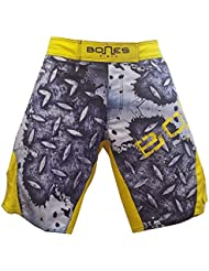 """""""Bones Fight"""" Fight short, MMA short, BJJ, grappling short, free fight short (XL)"""