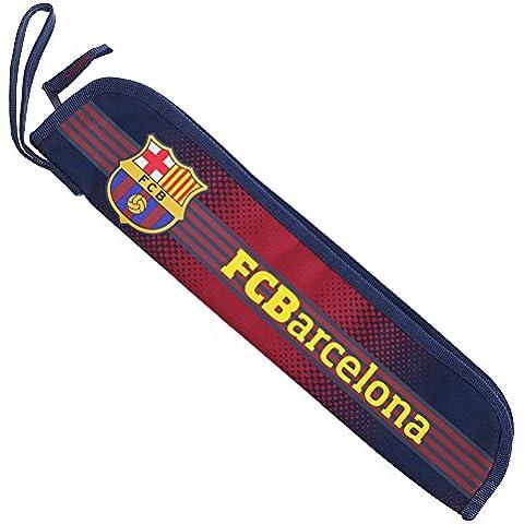 Custodia per Flauto con Stemma del Barcellona