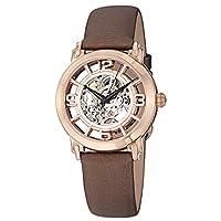 ساعة كاجوال للنساء من ستوهرلنج - جلد، بني، 156.124T14