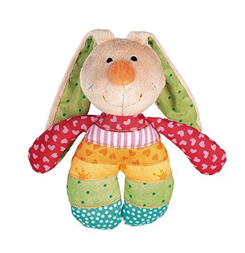 sigikid, Mädchen und Jungen, Greifling und Rassel, Rainbow Rabbit, Mehrfarbig, 40578