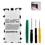 Samsung Sp4960C3B Tablet Battery Tlp-018 Li-Pol Battery - Rechargable Ultra High Capacity (Li-Pol 3.7V 4000 Mah) for Samsung Sp4960C3/B Battery - Installation Tools Included