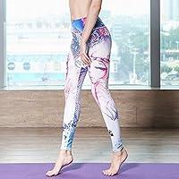 JIALELE Pantalon Yoga El Sello De 12 Constelaciones Pantalones De Yoga  Mujer Agresiva Apretado De Cintura 509e7f2c92e9