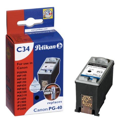Pelikan C34 Druckerpatrone (ersetzt Canon PG-40) 3-farbig - Pg-40 Cartridge Ink