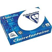 Clairefontaine - Risma di carta per stampante Clairalfa 1950, formato DIN A4, grammatura 100 g/m², 500 fogli, bianco