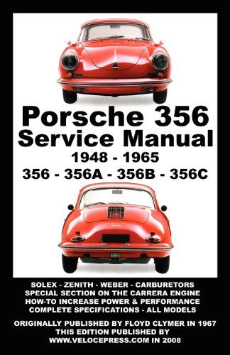 PORSCHE 356 OWNERS WORKSHOP MANUAL 1948-1965