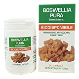 Boswellia Serrata Pura Naturpharma 50 Vegan capsule da 400 mg di Estratto Puro | Titolato al 95% in Acidi Boswellici | Senza Glutine Senza Lattosio Vegan Approved e capsule in gel vegetale