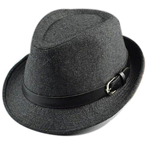 unisex-women-men-fashion-autumn-winter-warm-belt-decoration-jazz-hat-caps-gray