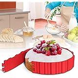 DIY decorativo silicona multi-puzzle molde para tartas Patisserie Bake Moulds Pastel Decoration de horno (4 Pcs)
