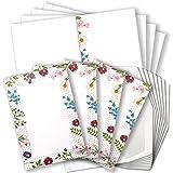Tarjetas de agradecimiento, barunsoncard Juego de gbh8071, Blanco,...