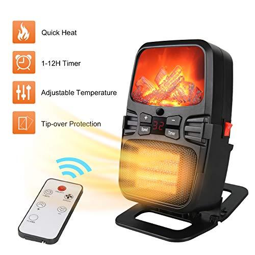 Mini Calefactor Cerámico Portátil Calentador Eléctrico