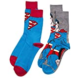 Blu Officiel et Noir Superman Assorties Chaussettes Gift Set - ...