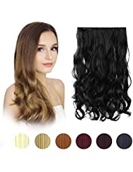 Hair extensions amazon feshfen 20 one piece 34 full head clip in hair extensions pmusecretfo Gallery